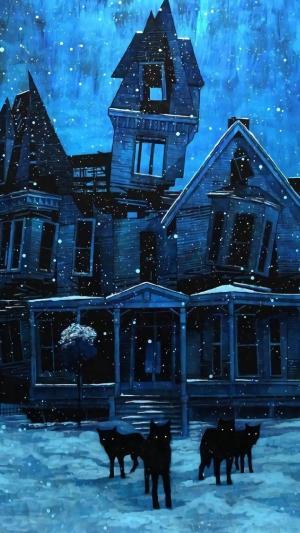 阴暗风格壁纸黑暗艺术绘画高清图片