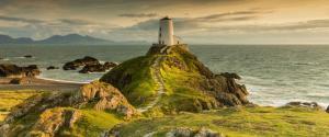 灯塔 大海 海岸悬崖 灯塔风景壁纸