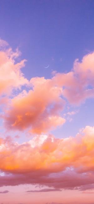 唯美云朵全面屏高清手机壁纸