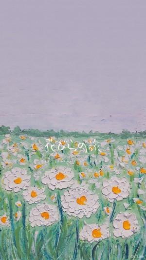 花瓣之旅油画棒唯美手机壁纸 第二辑