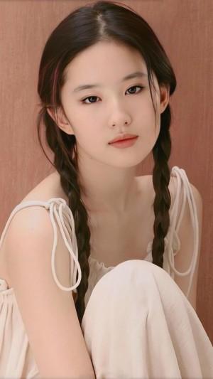 刘亦菲少女感优雅妩媚迷人写真