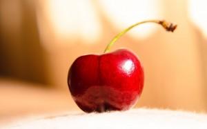 新鲜营养丰富的樱桃