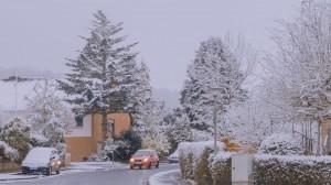 北欧冬日治愈雪景