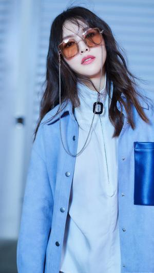 唐嫣炫酷个性时尚魅力写真手机壁纸