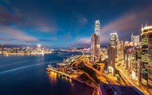 精选香港繁华都市风景图片