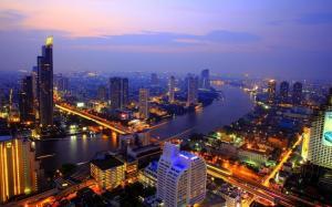 旅游胜地泰国曼谷的风光高清桌面壁纸