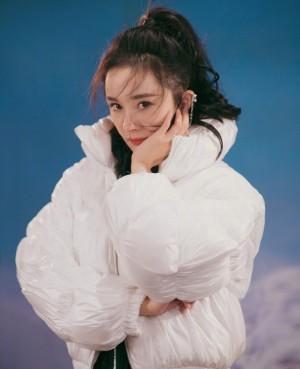 杨幂时尚性感杂志大片写真图片