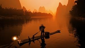 桂林漓江山水秀美高清桌面壁纸