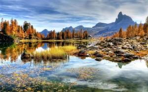 意大利白云岩绝美风光风景