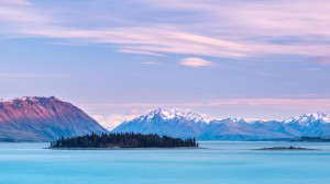 山脉中的一道靓丽风景线