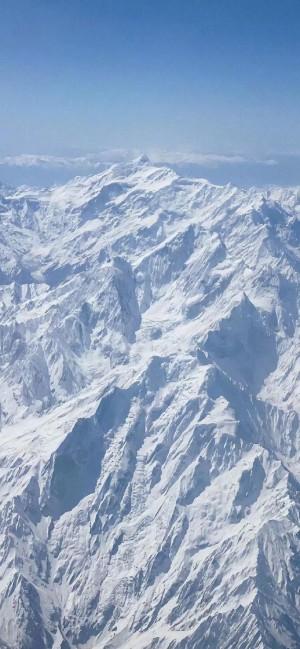大自然雪山美景高清手机壁纸