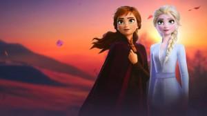 《冰雪奇缘2》艾莎和安娜姐妹的新造型剧照图片
