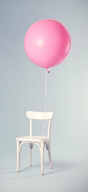 小清新文艺气球手机壁纸