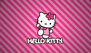 粉红可爱的hello kitty高清壁纸图片大全