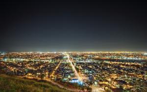 天使之城洛杉矶夜景壁纸