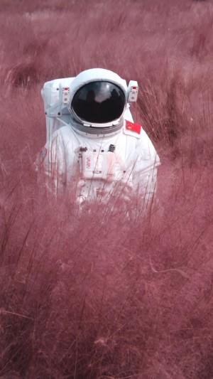 宇航员创意个性手机壁纸图片