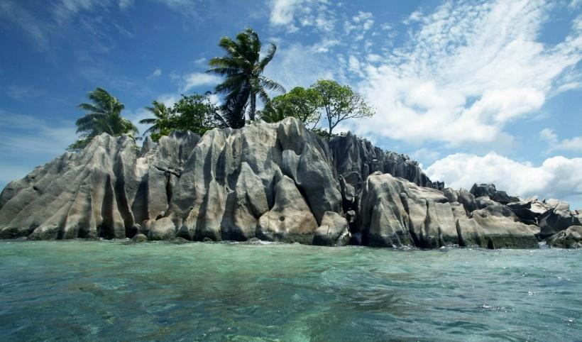塞舌尔群岛自然风景
