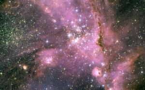 唯美绚丽的星空图片