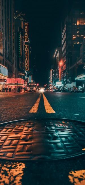 繁华城市夜景手机壁纸