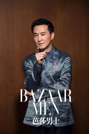 吴刚儒雅时尚杂志写真图片