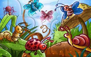 六一儿童节可爱手绘回忆童年图片
