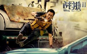 吴京执导电影《战狼2》剧照图片