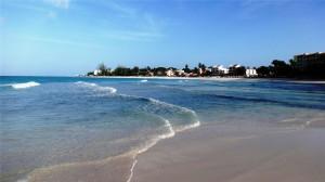 巴巴多斯海滩清新风景高清桌面壁纸