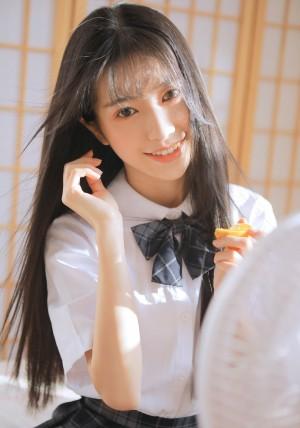 日系美女学生妹校园JK制服诱惑图片