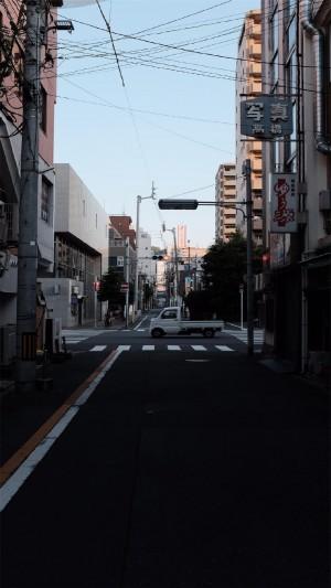 日式小清新街景高清手机壁纸