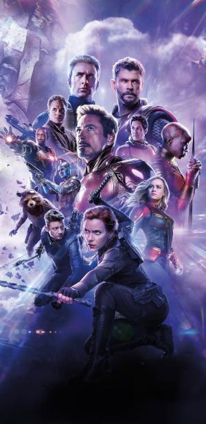 《复仇者联盟4:终局之战》最新海报