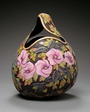 美国艺术家的创意南瓜雕刻作品