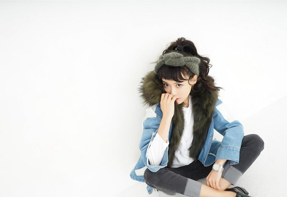 黄一琳少女清纯活力时尚性感写真