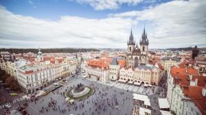 欧洲小镇美丽风光桌面壁纸