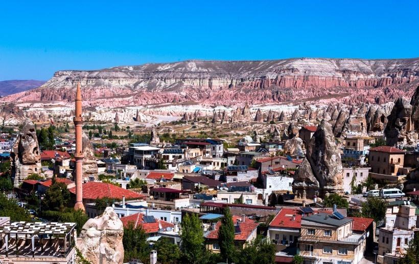土耳其卡帕多西亚风景