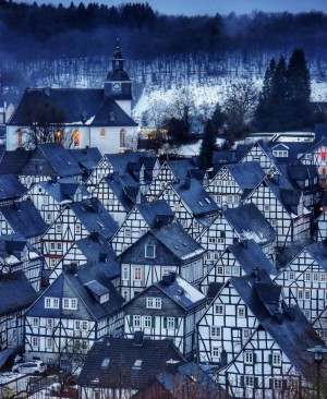 德国Freudenberg小镇的房屋