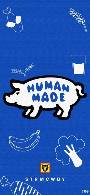 日本潮牌Human made卡通高清手机壁纸