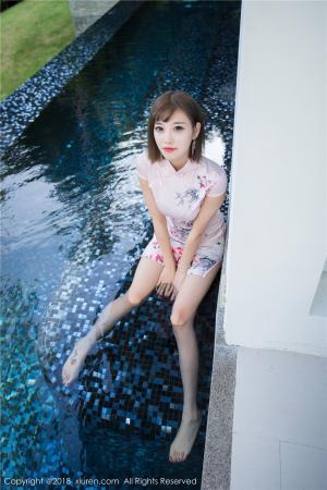 长腿美女杨晨晨sugar旗袍写真图片