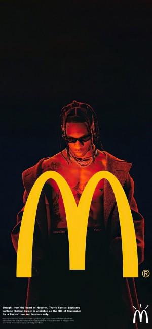 麦当劳品牌时尚潮流手机壁纸