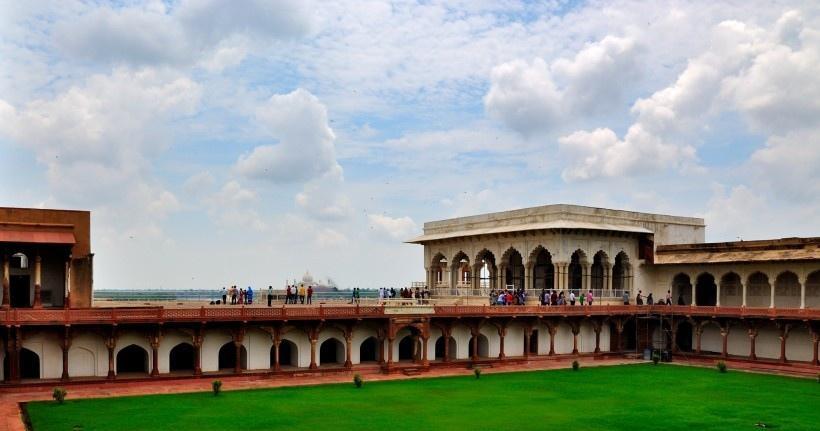 印度阿格拉红堡风景