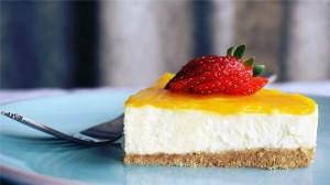 诱人的草莓蛋糕高清桌面壁纸写真