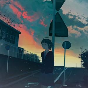 静谧的城市天空