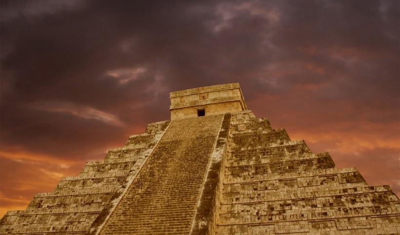 神秘玛雅文化艺术风光风景图片