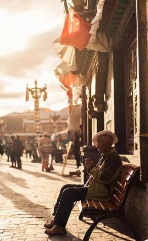 拉萨街拍图片