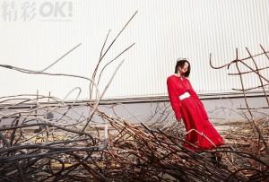 张雪迎工业风艺术写真图片