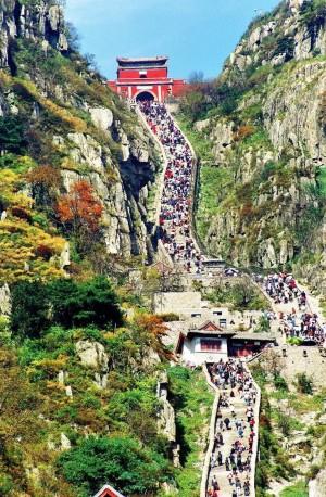 山东泰山风景图片