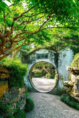 苏州园林清新风景图片