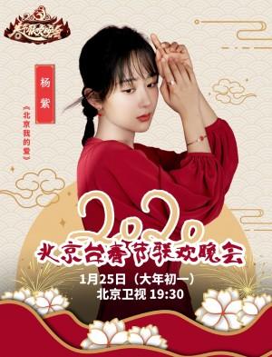 杨紫新年红裙喜庆迷人写真图片