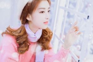 清纯甜美少女冬季俏皮写真