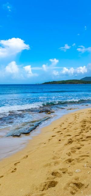 唯美海洋岛屿高清桌面壁纸