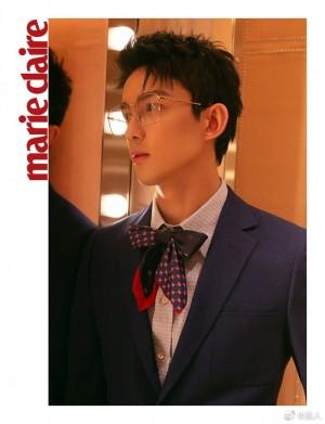 吴磊西服套装绅士风度写真图片